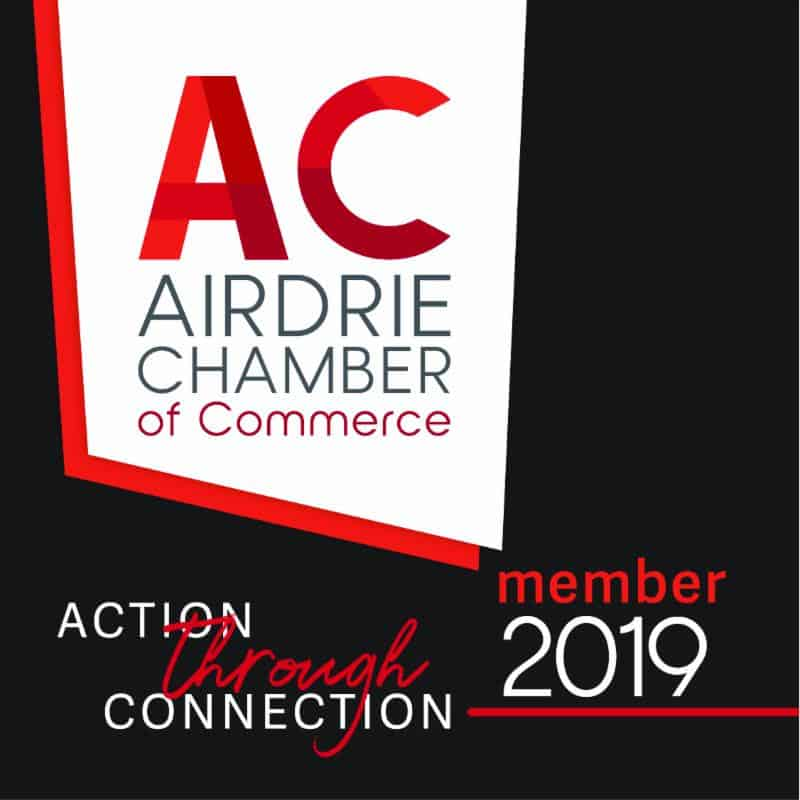 Member of the Airdrie Chamber of Commerce