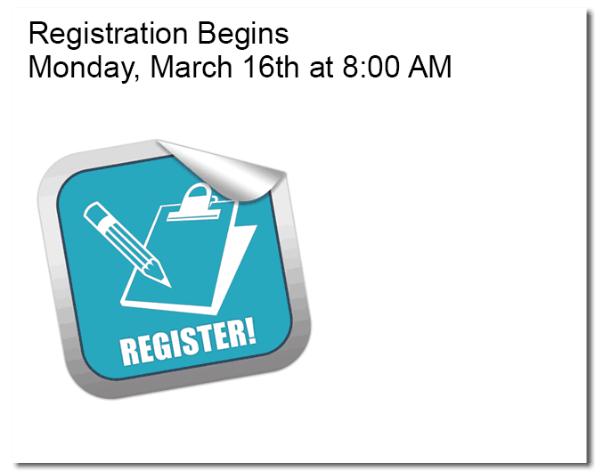 registration begins